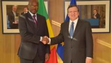 le Premier ministre malien et Manuel Baroso